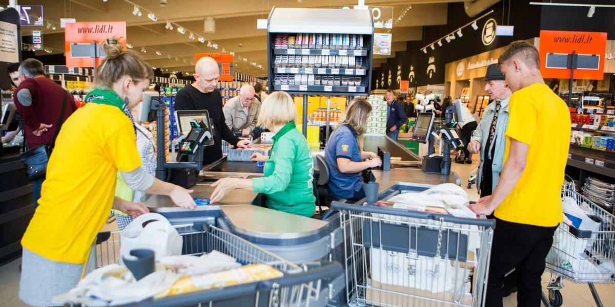 """""""Lidl"""" pirkėjus bando vilioti vienos kainos visoje Lietuvoje garantija"""