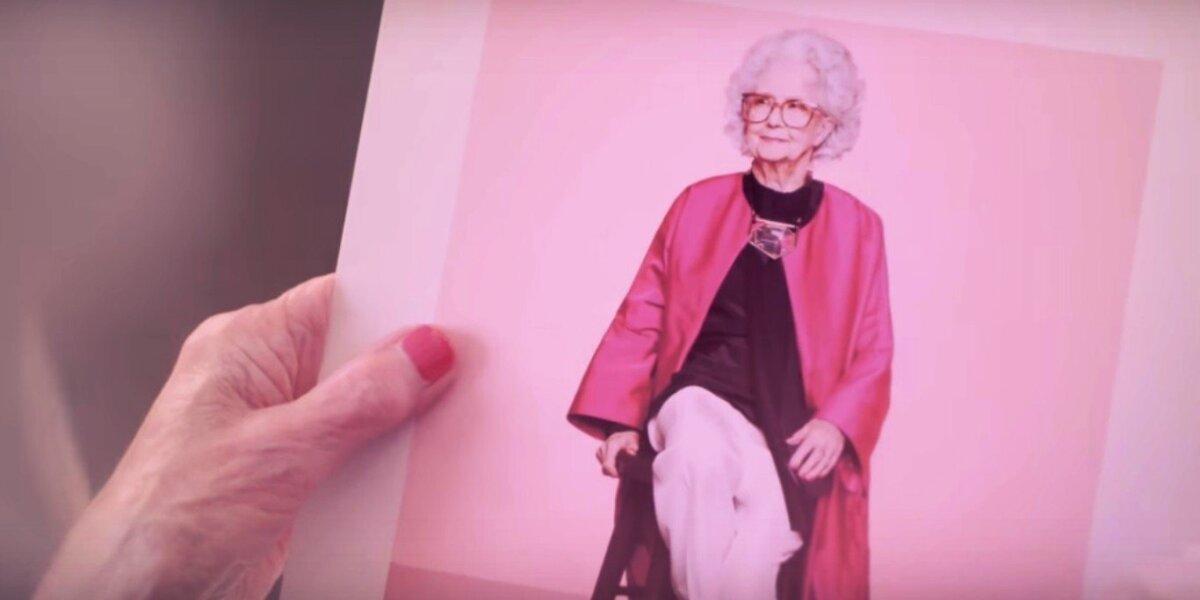 """Jubiliejinio """"Vogue"""" D.Britanijoje modelis – šimtametė Bo Gilbert"""
