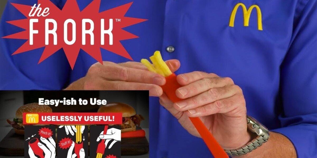 """""""McDonald`s"""" reklamoje ‒ niekam nereikalingas išradimas"""