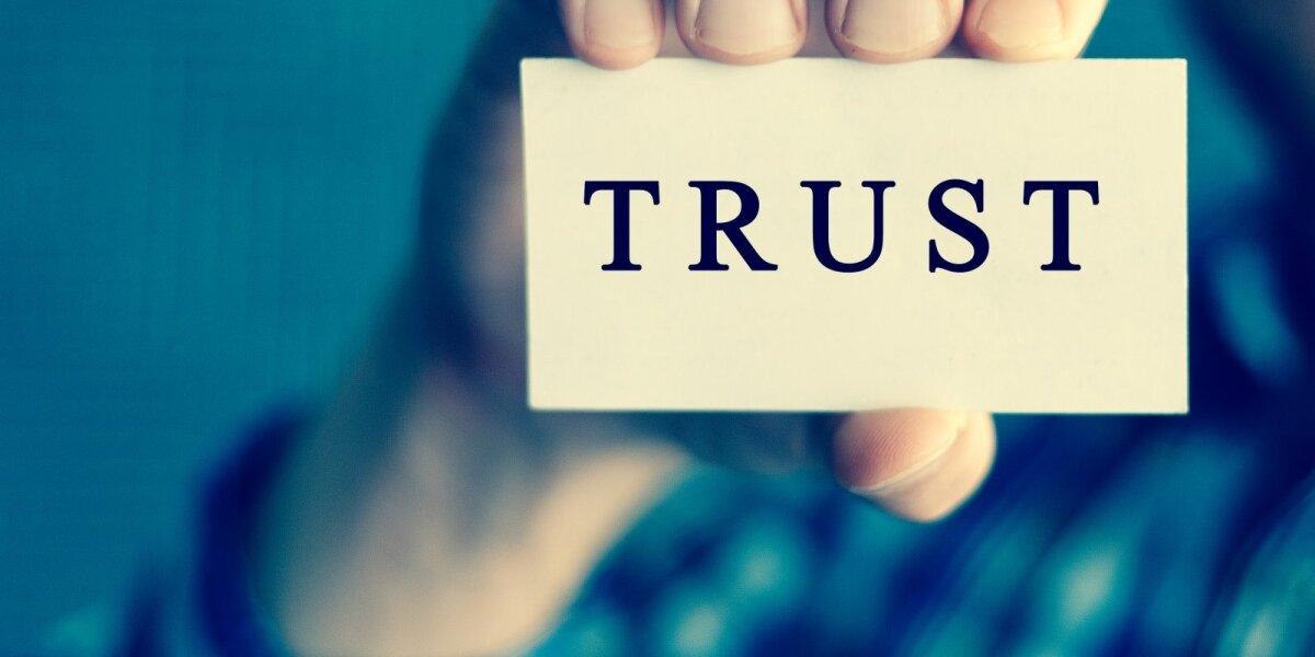 Kodėl verslui negana atrodyti patikimu