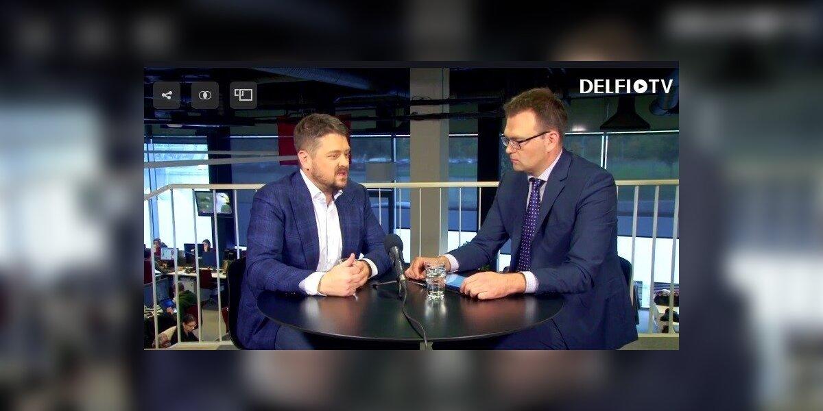 """M. Katkus kalbina L. Šeškų: kada mirs televizija ir kokia ateitis laukia """"Laisvės TV"""""""