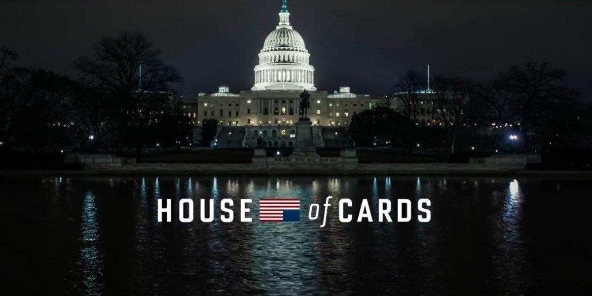 """Serialas """"House of Cards"""" (Kortų namelis)"""