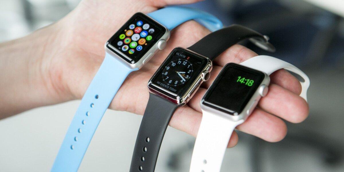 """""""Apple"""" laikrodžiai lūkesčių nepateisino: pardavimai nukrito 55 proc."""