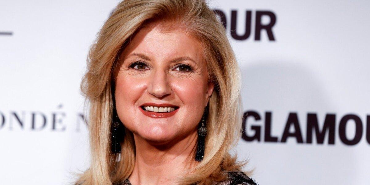 Arianna Huffington: moteris, pakeitusi žiniasklaidos verslą