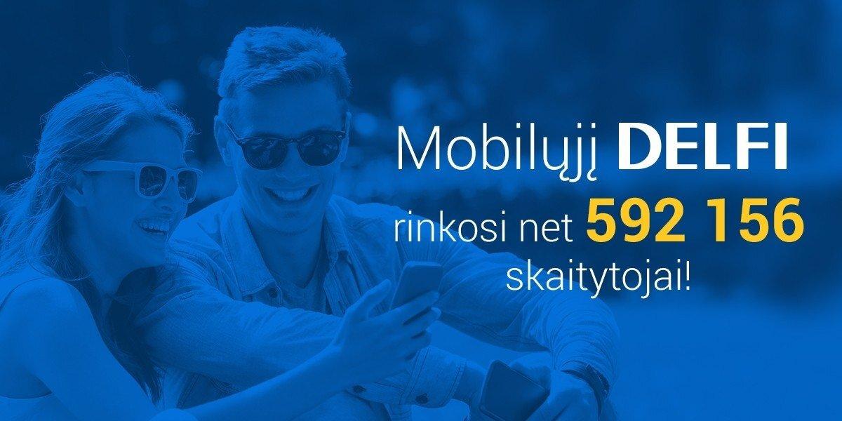 DELFI mobiliuosiuose didina atotrūkį nuo konkurentų