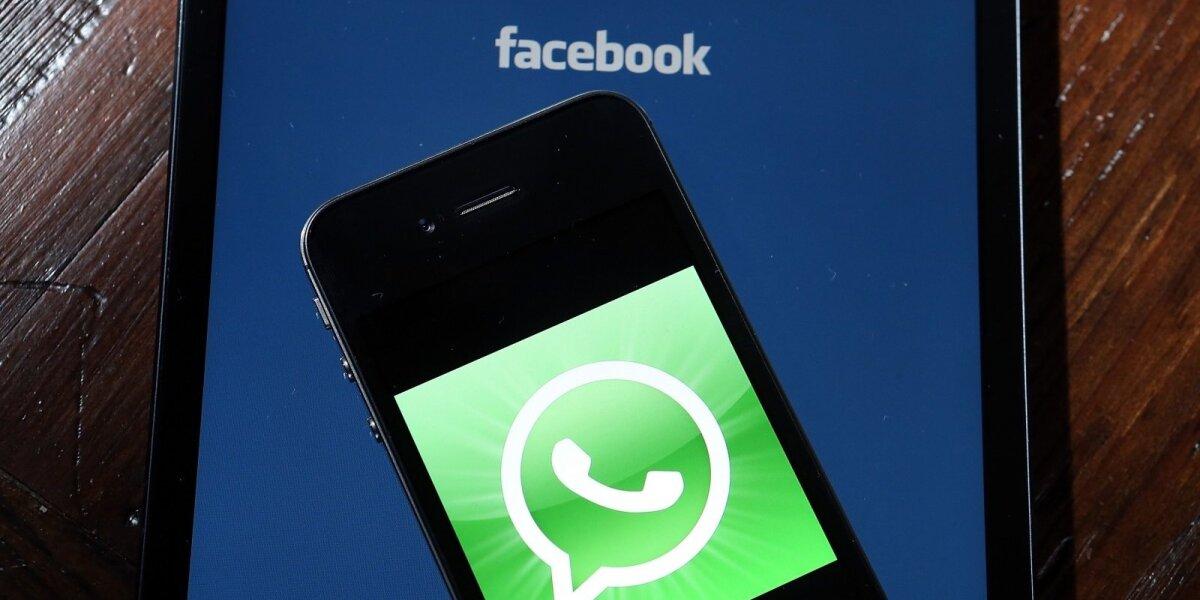 """""""WhatsApp"""" vartotojai piktinasi jų duomenų perdavimu feisbukui"""