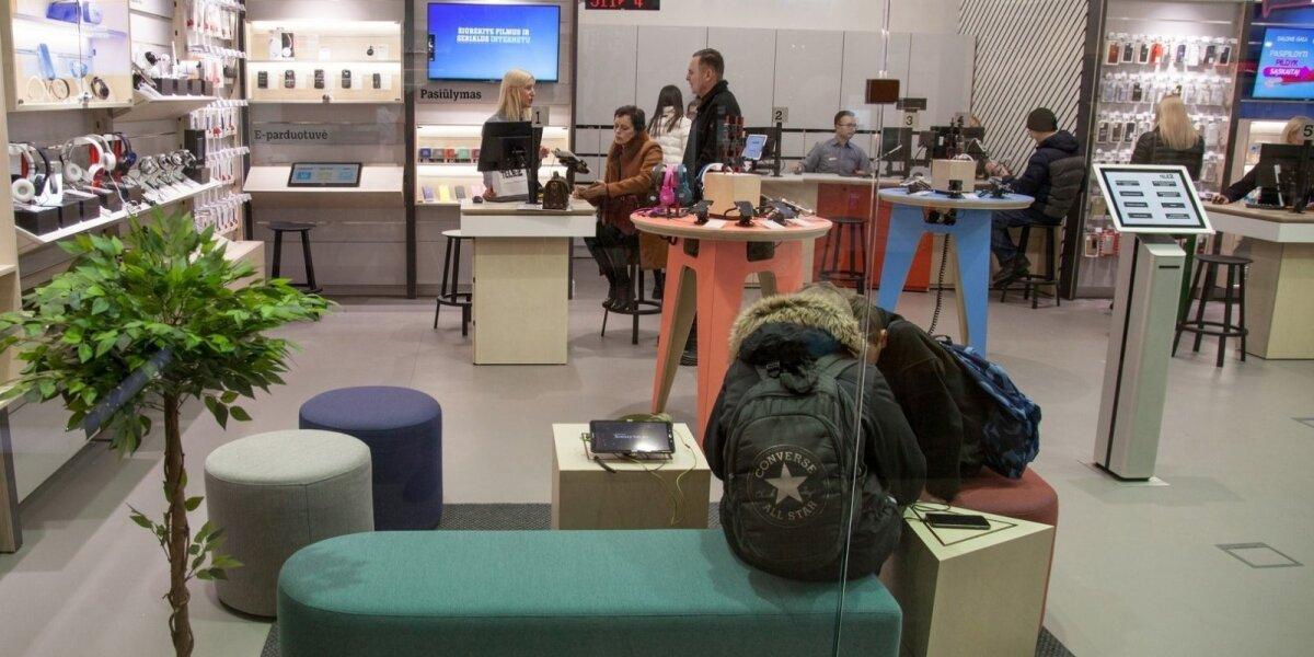 """Naujos koncepcijos """"Tele2"""" saloną sukūrė klientai"""