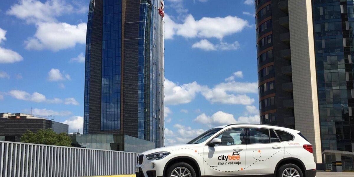 """""""CityBee"""" papildė """"BMW X1"""""""