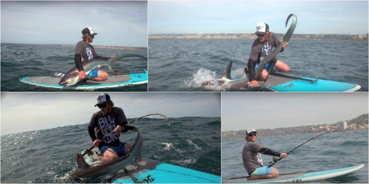 Žvejyba nuo irklentės