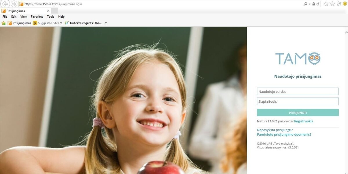 Elektroninio dienyno staigmena: kam perduodami vaikų duomenys?