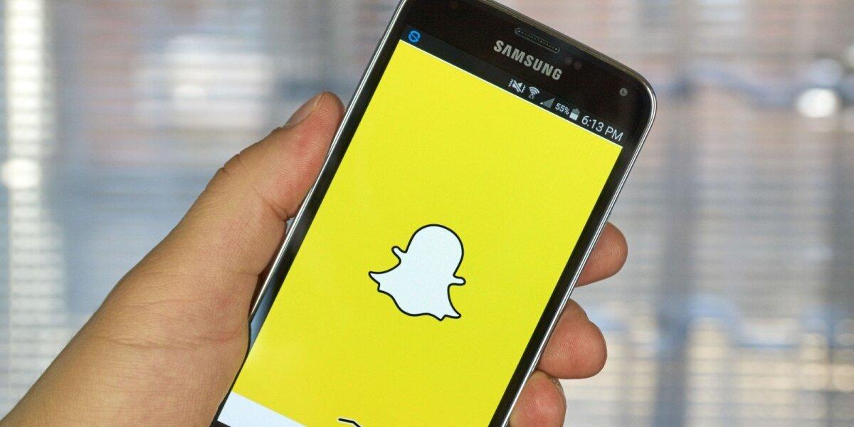 """""""Snapchat"""" tapo tiesiog """"Snap"""""""