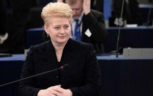 V. Tomaševskis Strasbūre prabilo apie represijas lenkams – ir sulaukė D. Grybauskaitės atkirčio