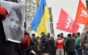 Ukrainos opozicija po žurnalistės sumušimo planuoja masinį mitingą