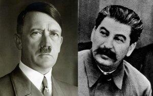 Adolfas Hitleris, Josifas Stalinas. TopFoto/Scanpix