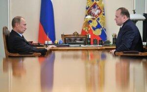 Vladimiras Putinas ir Kaliningrado srities gubernatorius Nikolajus Cukanovas