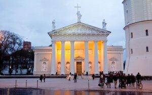 Vilniaus arkikatedra mini atšventinimo jubiliejų
