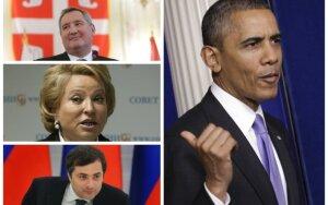 """Sankcijos Rusijai – """"griežčiausios nuo Šaltojo karo laikų"""""""
