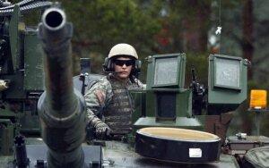 Iš JAV – žinia apie tankus Rytų Europoje