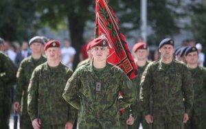Lietuvos kariuomenės vado Jono Vytauto Žuko inauguracijos ceremonija