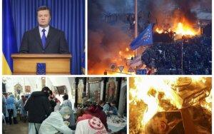 Košmaras Kijeve tęsiasi: aukų skaičius pasiekė 25, nušautas žurnalistas
