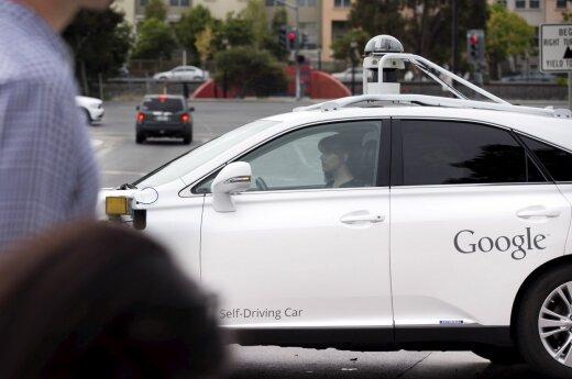 """Google"" eksperimentinis automobilis"