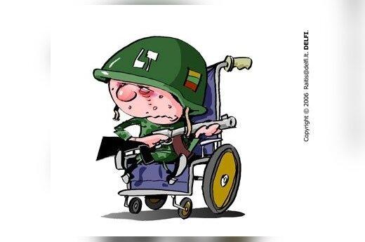 Išleidę darbuotoją į karinius mokymus darbdaviai galės tikėtis subsidijų