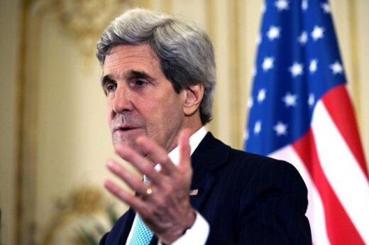 Johnas Kerry ir Sergejus Lavrovas susitinka dėl Ukrainos