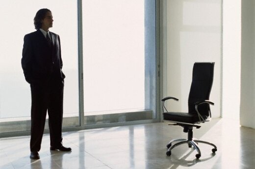 Darbas, vieta, kėdė, verslininkas