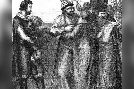 Алексанр Полубинский в плену у Ивана Грозного