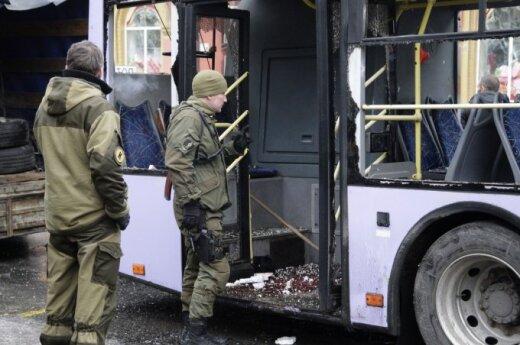 Жительница Донецка рассказала о взрыве на остановке и жизни в городе