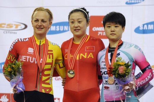Simona Krupeckaitė, Guo Shuang ir Lin Junhong