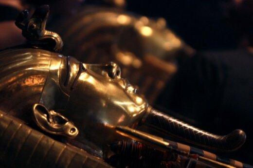 Faraono Tutanchamono auksinis sarkofagas