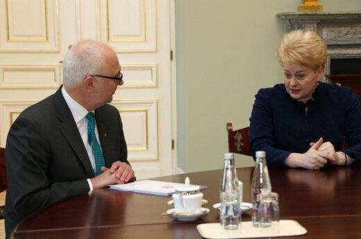 D.Grybauskaitė išrašė velnių DP ministrui D.Pavalkiui