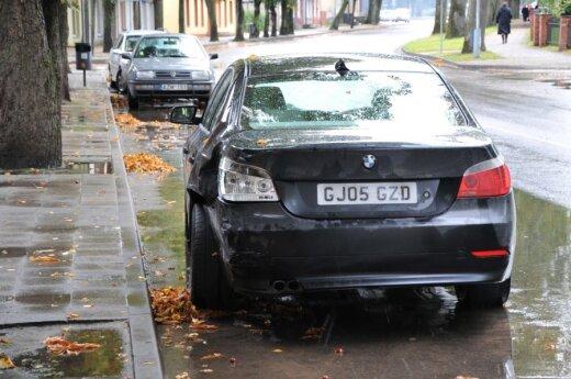 После ДТП сбежал и водитель и пассажиры BMW