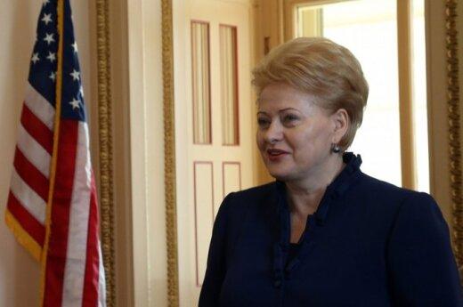 Grybauskaitė: USA jest naszym ważnym partnerem, jeśli chodzi o bezpieczeństwo energetyczne