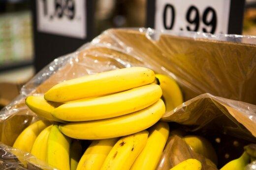 """Tyrimas: """"bananų karai"""" maskuoja kylančias kainas"""