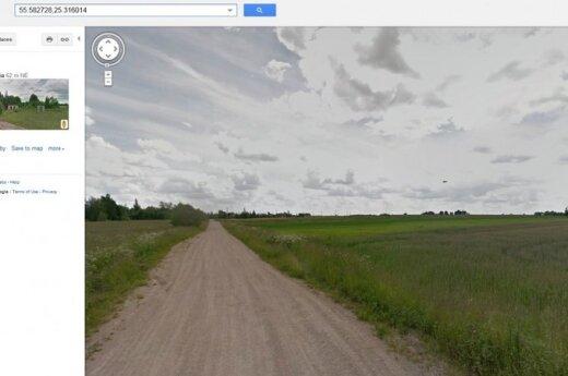 """""""Google"""" automobilis Lietuvoje užfiksavo NSO?"""