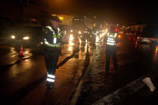 В Вильнюсе на пешеходном переходе насмерть сбита женщина