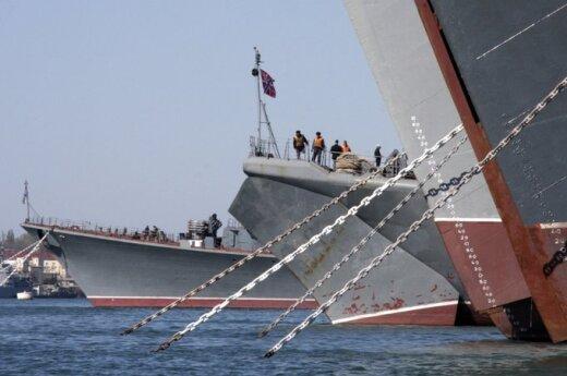 Корабли ВМФ России идут в поход по трем морям
