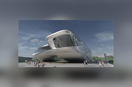 S.Hadid muziejaus projektas