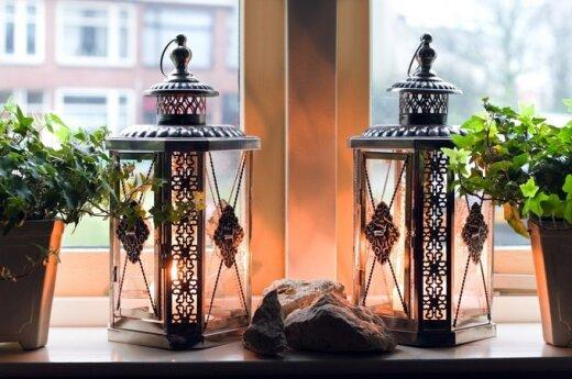 Idėjos namų jaukumui: žvakės - šildantis aksesuaras