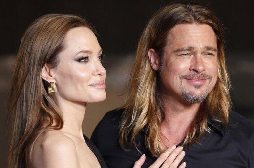Анджелина Джоли подарила Брэду Питту на 50-летие остров