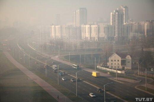 Спасатели обнаружили горящие торфяники под Минском
