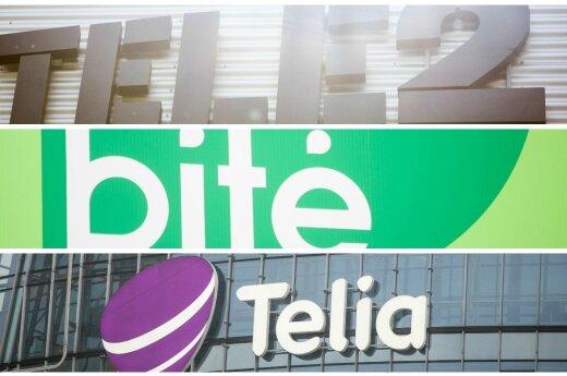 Tele2, Bitė, Telia