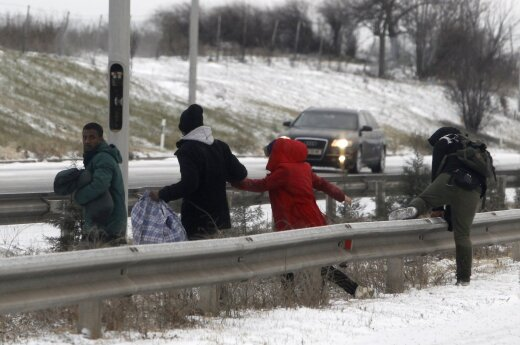 Illegal immigration now a top issue for Lithuanians