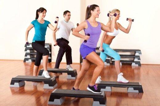 Video pamokėlė: Step aerobikos pagrindai