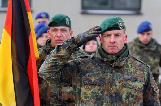Prieš NATO karius Lietuvoje – dar viena ataka: nusitaikė į Vokietijos bataliono vadą