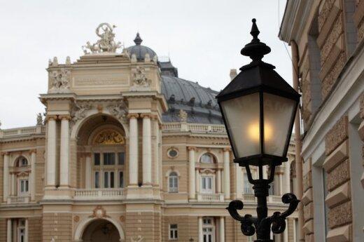 Operos ir baleto teatras. Odesa, Ukraina