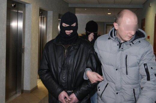 Мужчина, ограбивший Прунскене, месяц жил в гостинице
