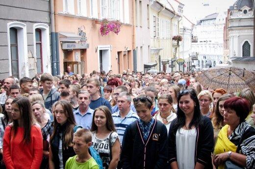 """Msza/strajk w obronie polskich szkół na Litwie i """"sprzedajne media"""""""